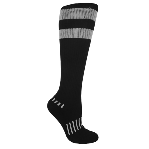 Black with Gray 70's Stripes 3-Pack