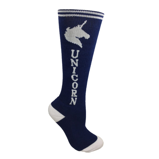 Navy Blue with White Super! Unicorn Youth 6-Pack