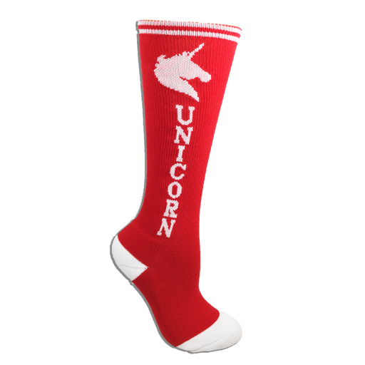 Red with White Super! Unicorn Youth 6-Pack