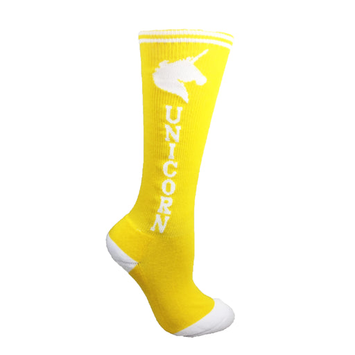Yellow with White Super! Unicorn Youth 6-Pack