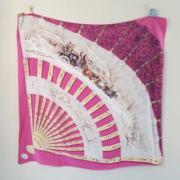 Gucci Pink Fan Scarf