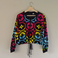 Early 90's Cropped Rainbow Jacket