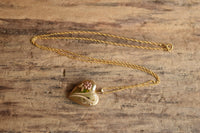 Heart Locket Necklace -14K Gold Filled