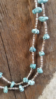 Faux Turquoise Southwestern Necklace
