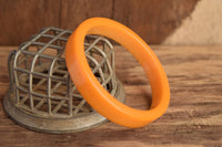 Flat Butterscotch Bakelite Bangle