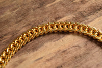 Golden Monet Chain Bracelet