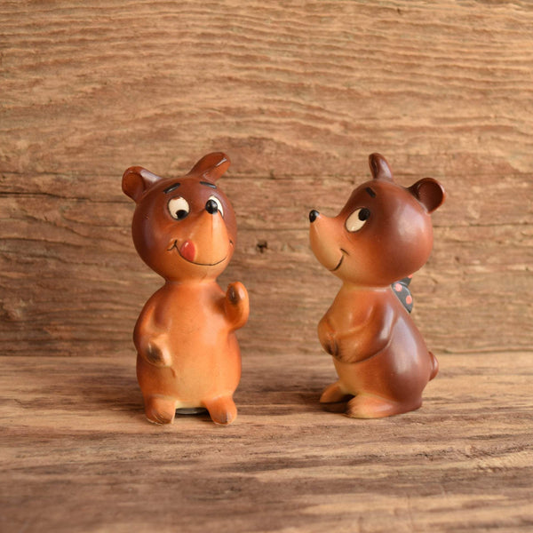 Bear Shaped Salt and Pepper Shakers