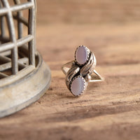 Mother of Pearl Size 6 1/2 Native Ring