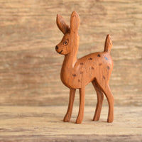 Wood Fawn Brooch