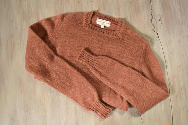 1970's Rust Wool Sweater - Jones New York