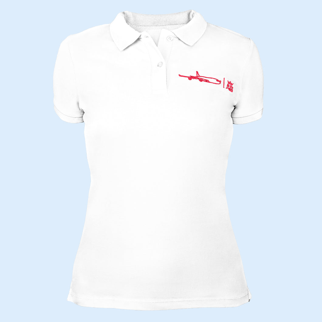 The must have Air Belgium women's polo - White