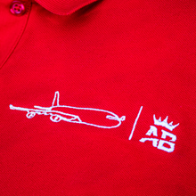 Load image into Gallery viewer, The must have Air Belgium men's polo - Red