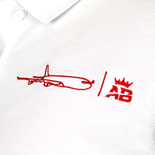 Load image into Gallery viewer, The must have Air Belgium men's polo - White