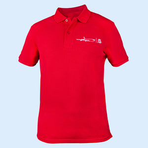 The must have Air Belgium men's polo - Red