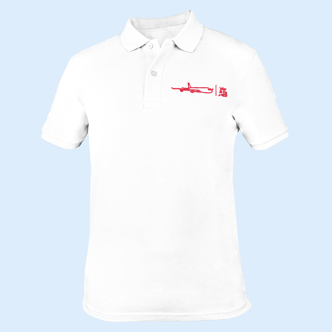 The must have Air Belgium men's polo - White