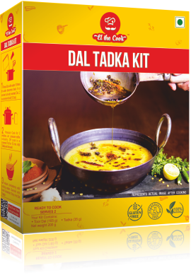 Quick, Tasty, Easy Dal Tadka (Indian Lentils) with EL The Cook Tadka Masala. Delivered Worldwide. Buy Online