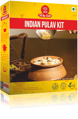 ELtheCook Pulav Kit-Quick and Tasty, Easy Indian Pulao / Pilaf with EL The Cook Tadka Masala. Delivered Worldwide. Buy Online
