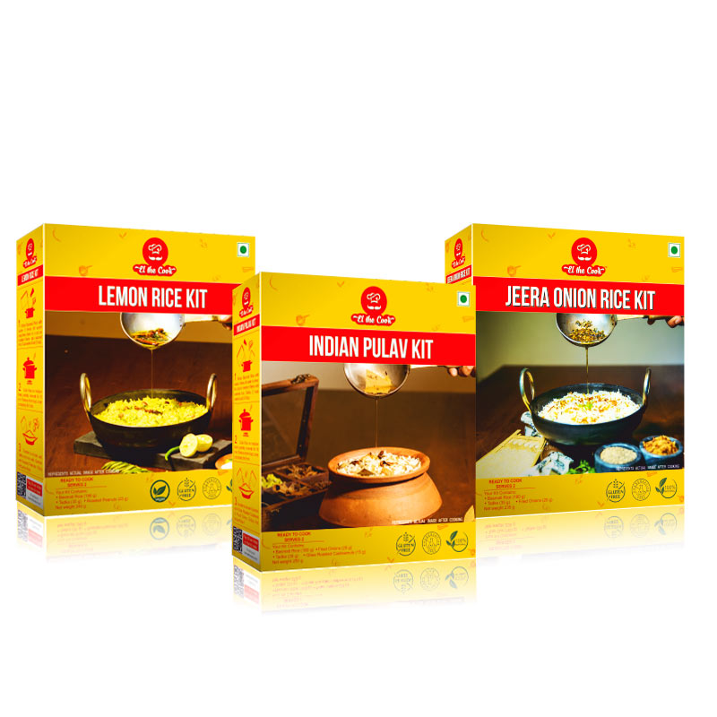 Quick and Tasty, Easy Indian Basmati Rice Recipes with EL The Cook Tadka Masala. Delivered Worldwide. Buy Online. Vegetarian Cooking