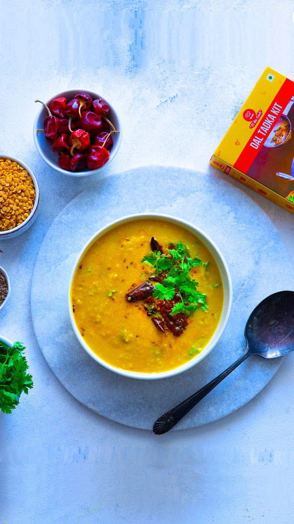 Cook Recipe - Quick, Tasty, Easy Dal Tadka (Indian Lentils) with EL The Cook Tadka Masala. Delivered Worldwide. Buy Online