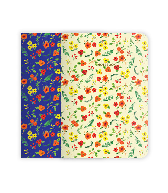 Botanical Florals Notebook Set