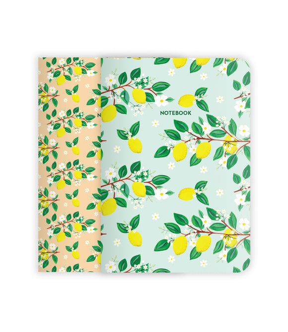 Lemons Notebook Set