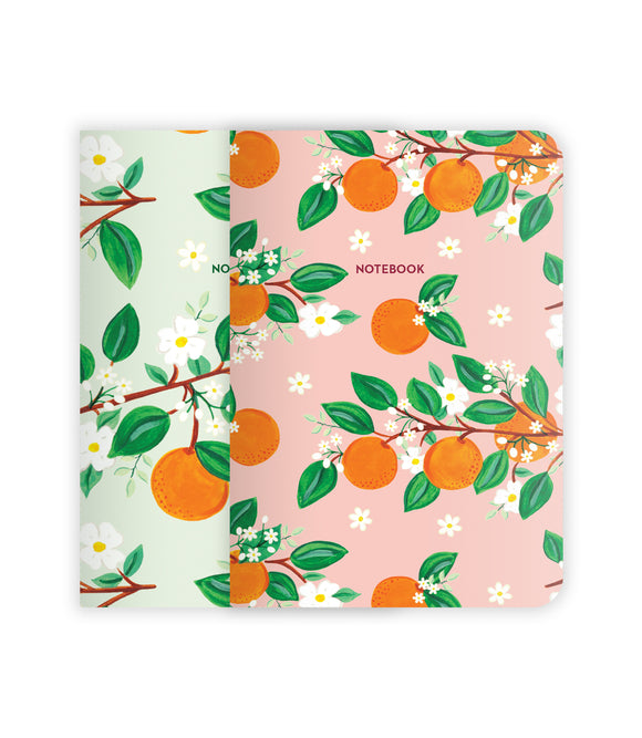 Oranges Notebook Set