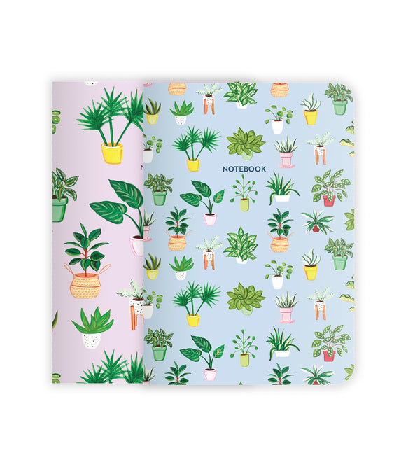 Plants Notebook Set