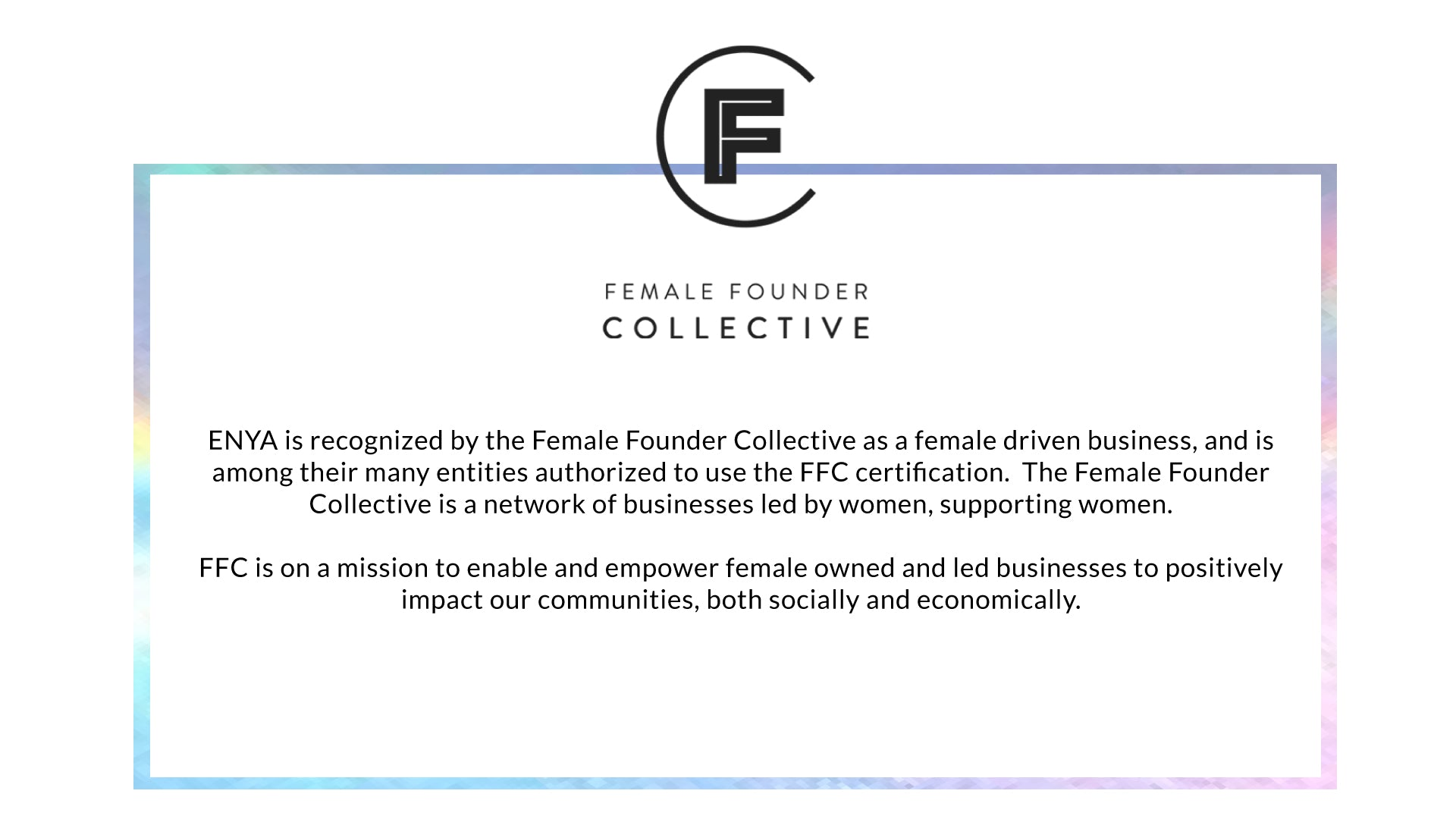 ffc female founders collective Enya Malaysia