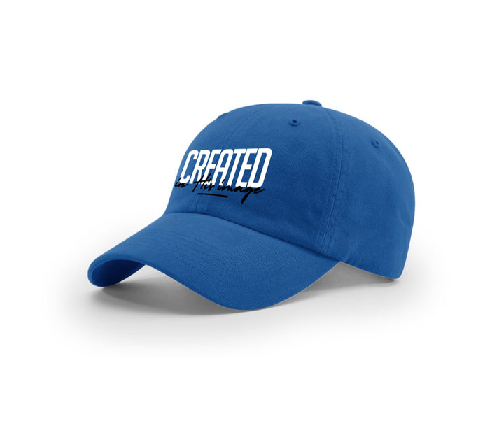 "Dad Hat ""In His Image"" (royal blue)"
