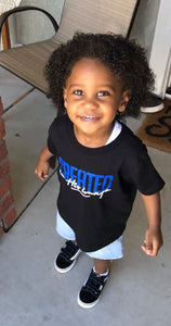 In His Image -Toddler (Black Tee)