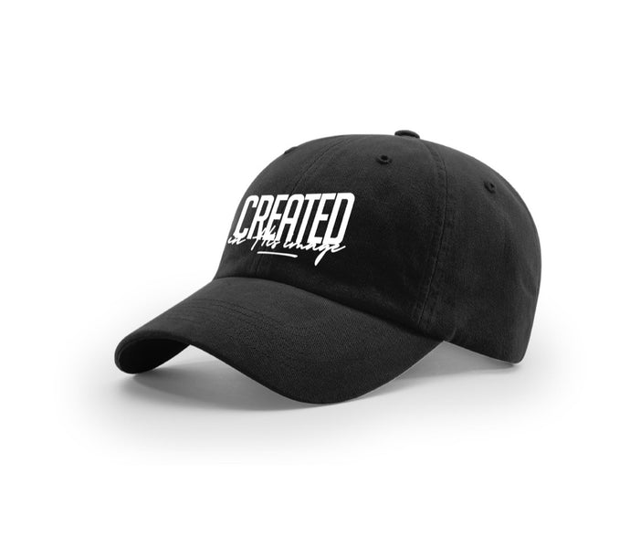 "Dad Hat ""In His Image"" (black)"