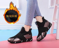 2019 Women Sneakers Vulcanized Shoes Ladies Casual Shoes Breathable Walking Mesh Flats Large Size Couple Shoes size35-40