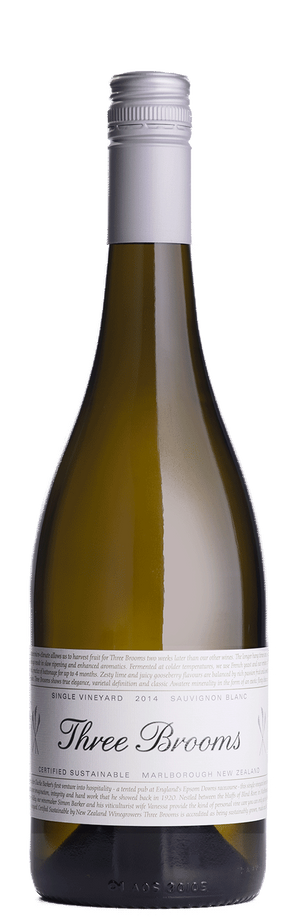 Three Brooms Sauvignon Blanc 2018
