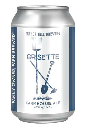 Manor Hill Grisette Farmhouse Ale 6 PACK