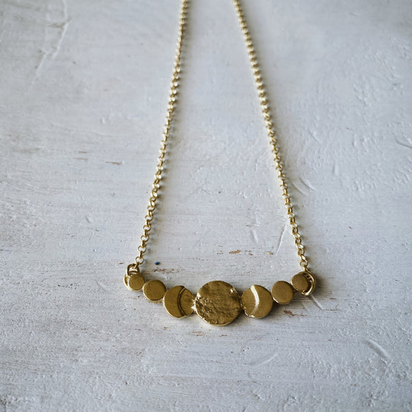Collar Fases Lunares Gold
