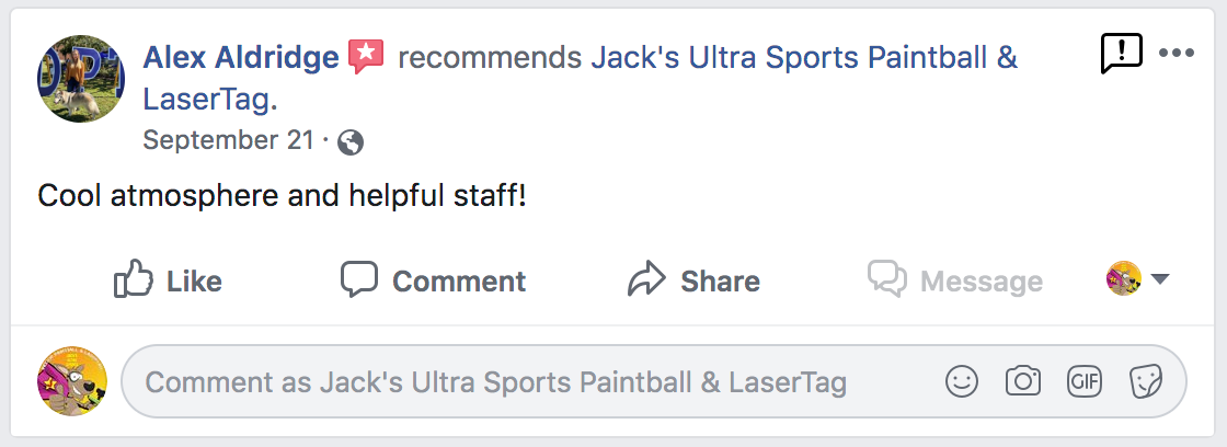 jacks ultra sports customer review