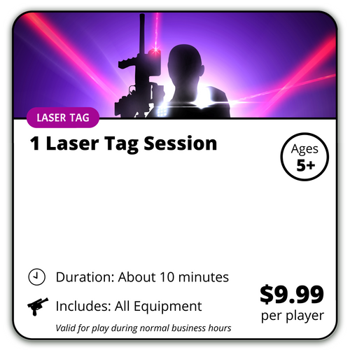 Ultimate Laser Tag (1 Session)