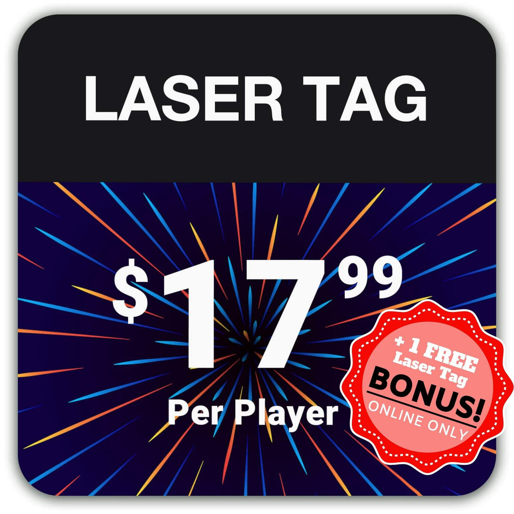 Combo Packs + Free Laser Tag Mission
