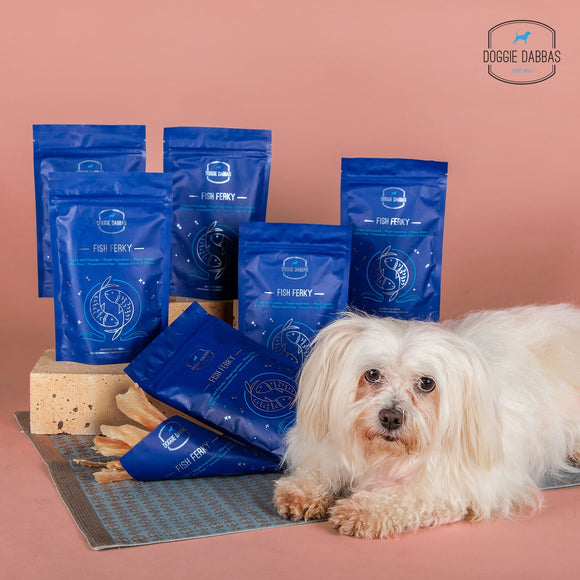 Best Treat For Dogs | Treats for dogs with allergies | Fish Jerky | Natural Dog Treats | Best Dog Treats India | Doggie Dabbas