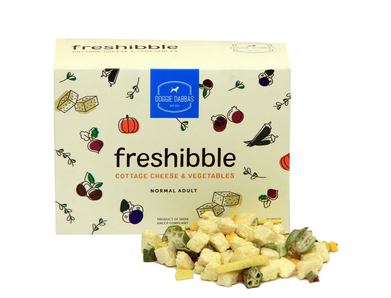 (V) freshibble - Cottage Cheese & Vegetables (Value Packs)