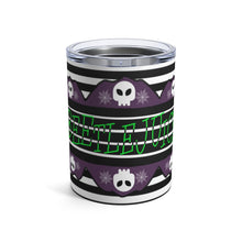 Load image into Gallery viewer, Beetle Juice Tumbler 10oz