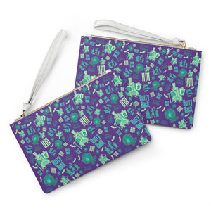 Hurry Back wristlet Clutch Bag