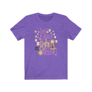 Let your light shine Unisex Jersey Short Sleeve Tee