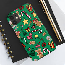 Load image into Gallery viewer, Holiday Doodles Case Mate Tough Phone Cases