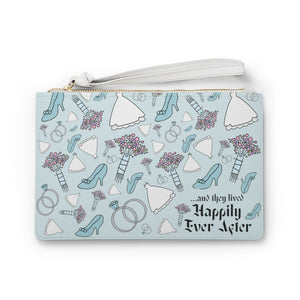 Happily Rver After wristlet Clutch Bag