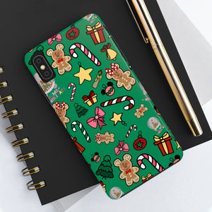 Holiday Doodles Case Mate Tough Phone Cases