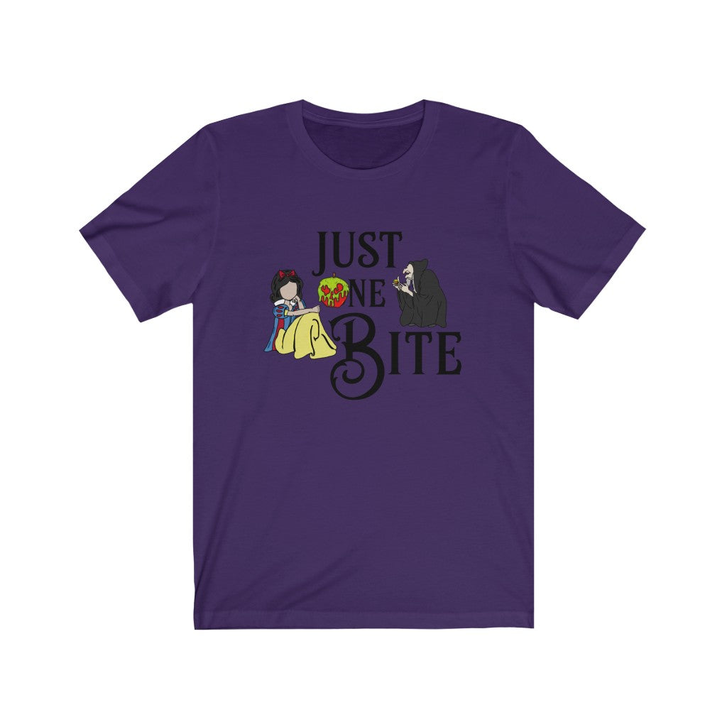 Just One Bite Unisex Jersey Short Sleeve Tee