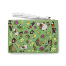 Load image into Gallery viewer, Down the Bayou wristlet Clutch Bag