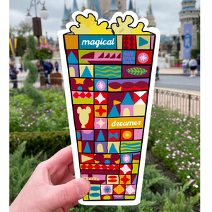 Magical Popcorn Magnet