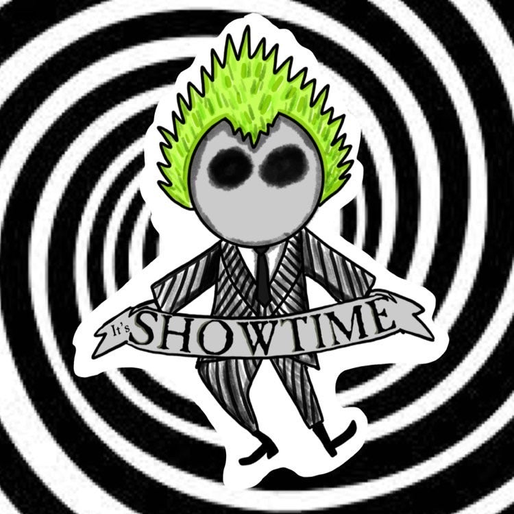 It's Showtime Magnet